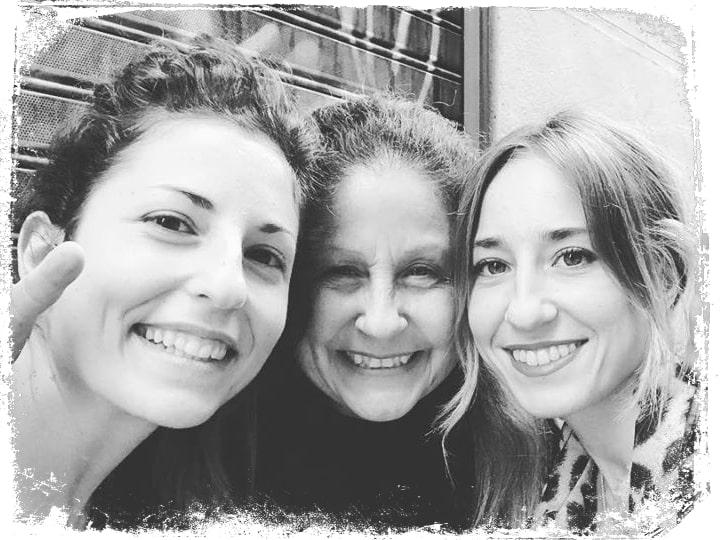 Adriana, Inés y Cristina en Zara