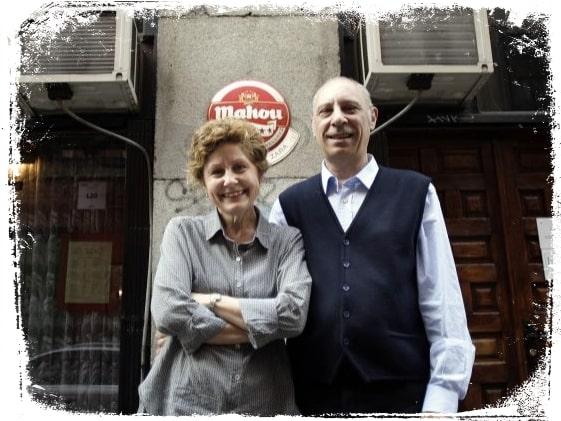Inés y Jorge, dueños actuales de Zara