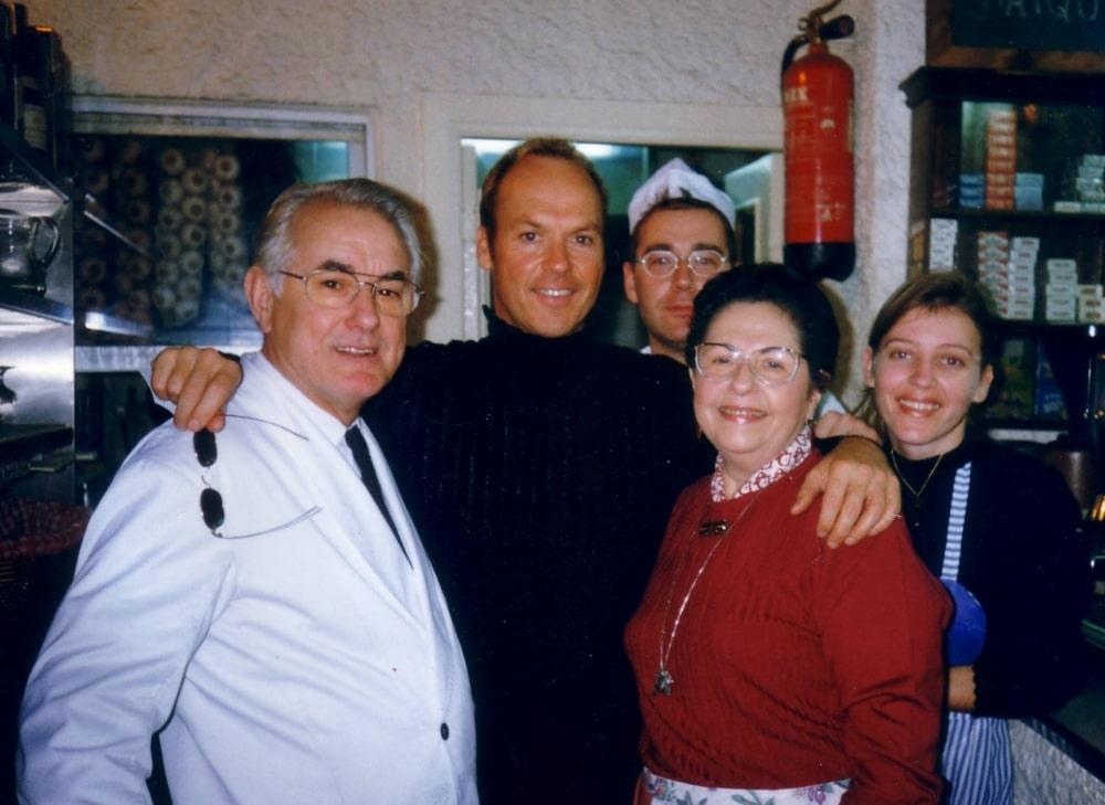 Pepe e Inés en Restaurante Zara