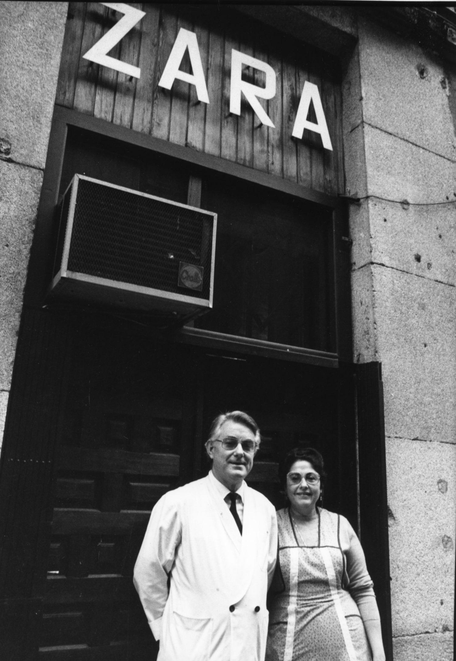 Restaurante Zara en 1964