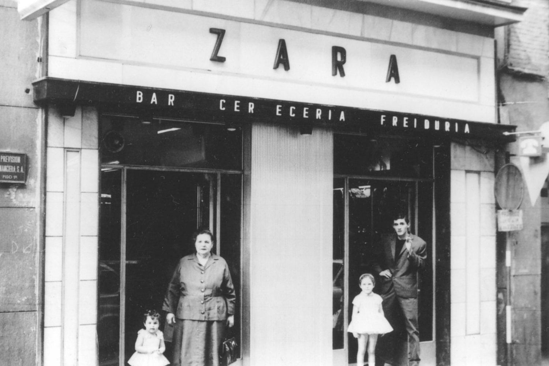 Restaurante Zara años 60
